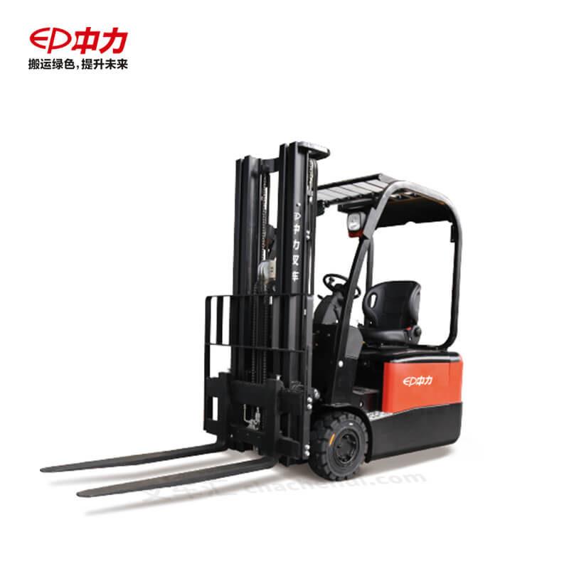 中力 1.8吨三支点电动平衡重叉车/锂电 CPD18TVL