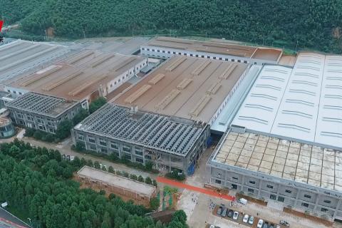 """2020年中力成为第一批""""四星级绿色工厂""""企业"""