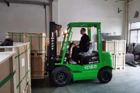 中力用户之声 | 油改电叉车助力汽车制造企业提高搬运效率